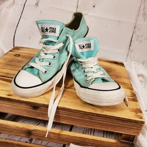 Unbreakable Blue Converse
